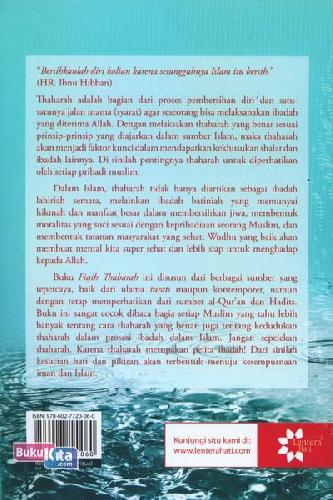 Cover Belakang Buku Fiqih Thaharah