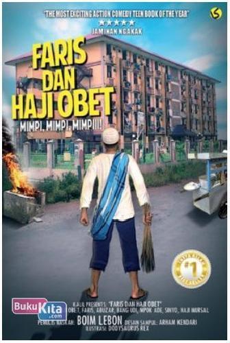 Cover Buku Faris dan Haji Obet : Mimpi, Mimpi, Mimpiii!