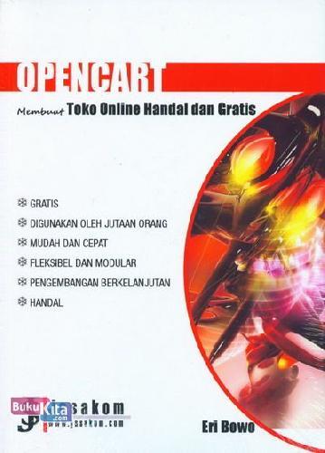 Cover Buku OpenCart : Membuat Toko Online Handal dan Gratis