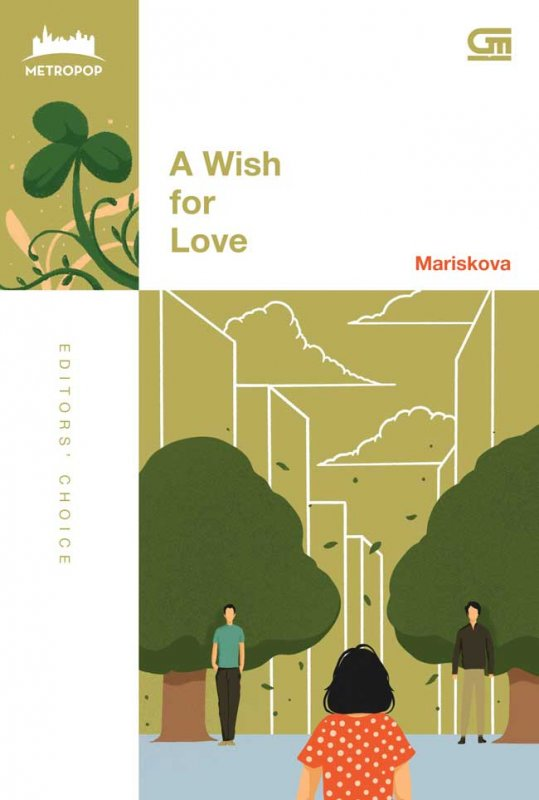Cover Buku MetroPop: A Wish For Love (cover Baru )