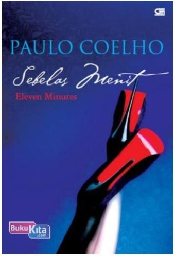 Cover Buku Sebelas Menit - Eleven Minutes (Cover Baru)