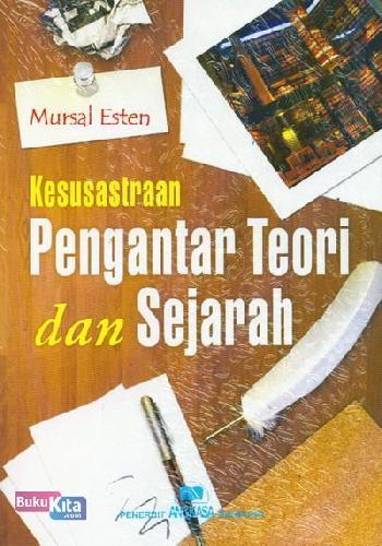 Cover Buku Kesusastraan Pengantar Teori dan Sejarah