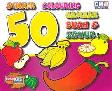 Cover Buku Sticker Colouring 50 Gambar Buah dan Sayur