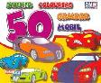 Cover Buku Sticker Colouring 50 Gambar Mobil