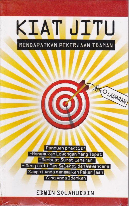 Cover Buku Kiat Jitu Mendapatkan Pekerjaan Idaman