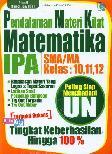 Pendalaman Materi Kilat Matematika IPA SMA/MA Kelas 10,11,12