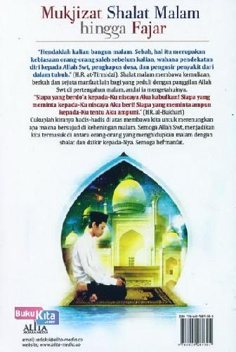 Cover Belakang Buku Mukjizat Shalat Malam hingga Fajar