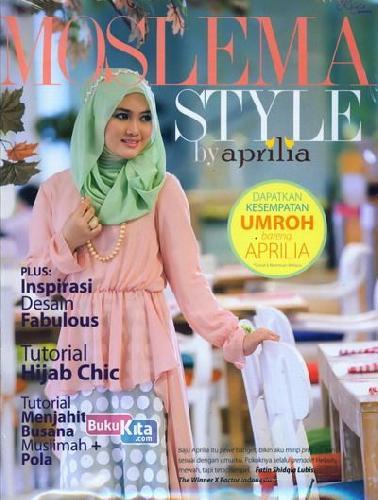 Cover Buku Moslema Style by Aprilia