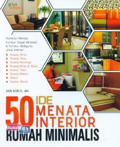 Cover Buku 50 Ide Menata Interior Rumah Minimalis