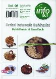Herbal Indonesia Berkhasiat : Bukti Ilmiah & Cara Racik - Vol. 08