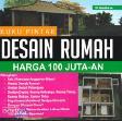 Buku Pintar Desain Rumah Harga 100 Juta-an