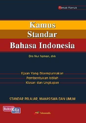 Cover Buku Kamus Standar Bahasa Indonesia