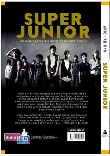 Cover Belakang Buku SUPER JUNIOR