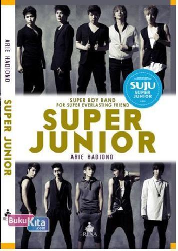 Cover Buku SUPER JUNIOR