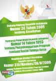 Undang-Undang Republik Indonesia Nomor 36 Tahun 2009 tentang Kesehatan