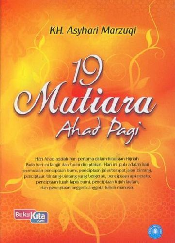 Cover Buku 19 Mutiara Ahad Pagi