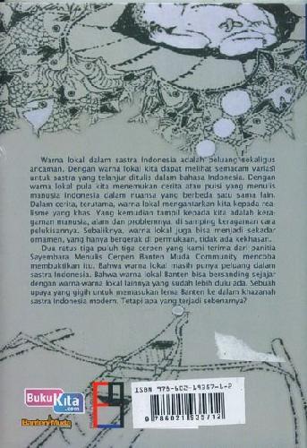 Cover Belakang Buku Banten ; Suatu Ketika