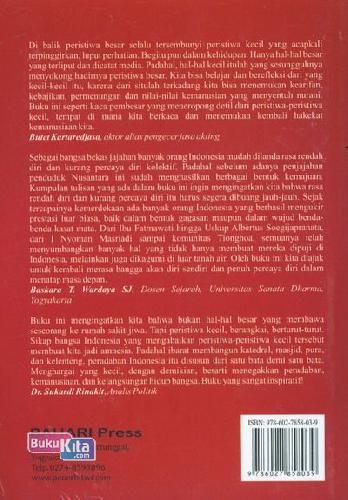 Cover Belakang Buku Indonesia Amnesia