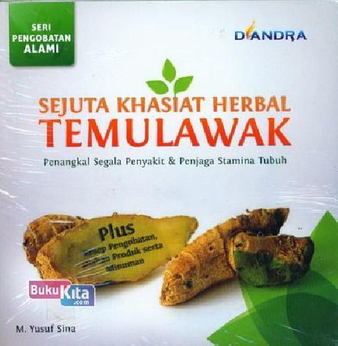 Cover Buku Sejuta Khasiat Herbal Temulawak : Penangkal Segala Penyakit & Penjaga Stamina Tubuh
