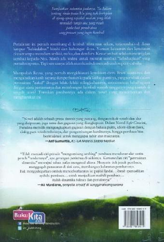 Cover Belakang Buku Safir Cinta (Dwilogi Perempuan Meniti Cahaya)