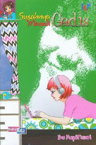 Cover Buku Susahnya Menjadi Gadis