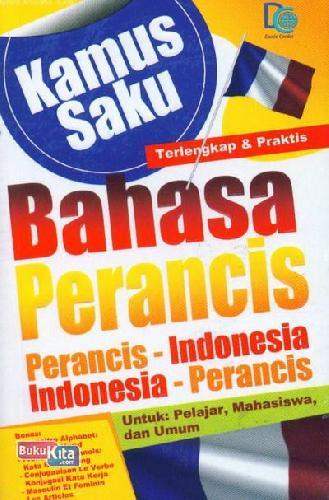 Cover Buku Kamus Saku Bahasa Perancis