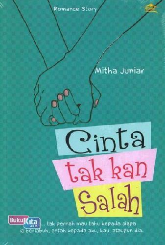 Cover Buku Cinta tak kan Salah