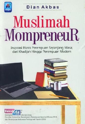 Cover Buku Muslimah Mompreneur