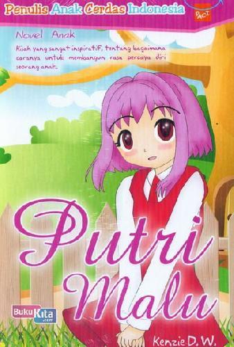 Cover Buku Putri Malu
