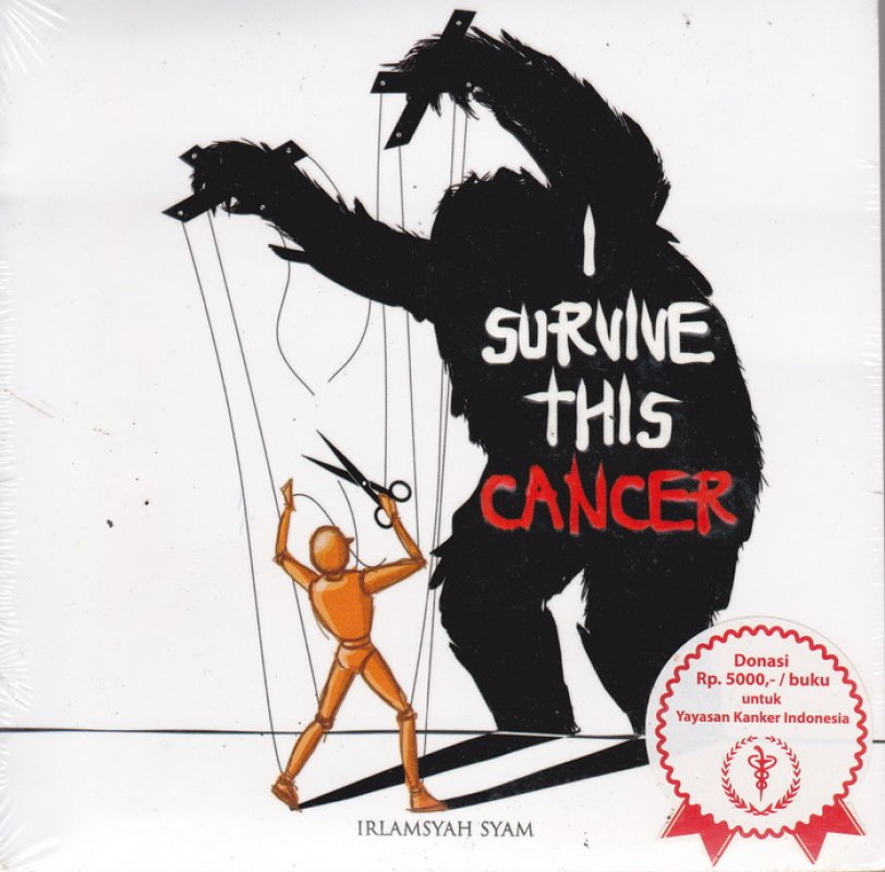 Cover Buku I Survive This Cancer