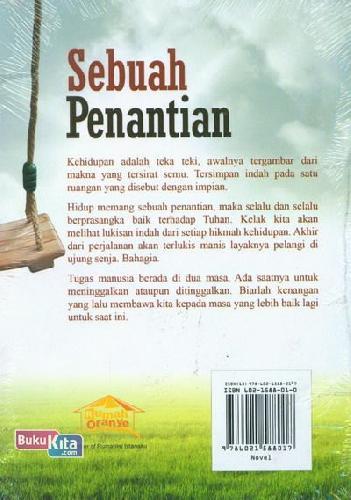 Cover Belakang Buku Sebuah Penantian