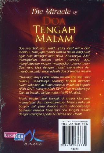 Cover Belakang Buku The Miracle of Doa Tengah Malam