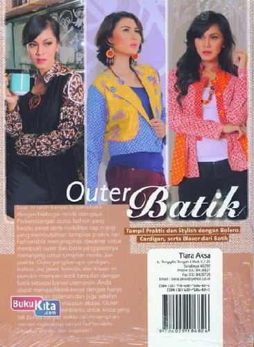 Cover Belakang Buku Outer Batik