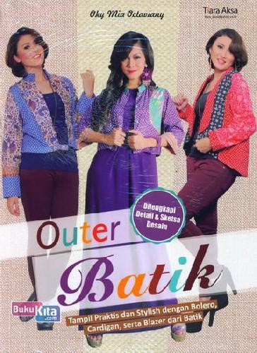 Cover Buku Outer Batik