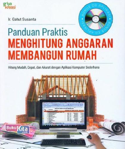 Cover Buku Panduan Praktis Menghitung Anggaran Membangun Rumah