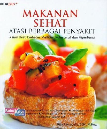 Cover Buku Makanan Sehat Atasi Berbagai Penyakit