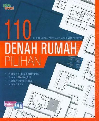 Cover Buku 110 Denah Rumah Pilihan