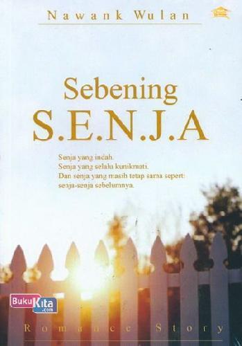 Cover Buku Sebening Senja