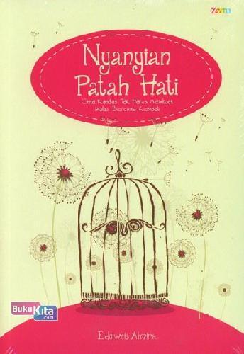 Cover Buku Nyanyian Patah Hati