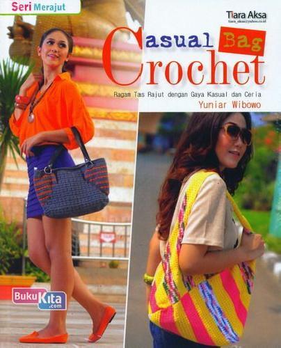 Cover Buku Casual Bag Crochet