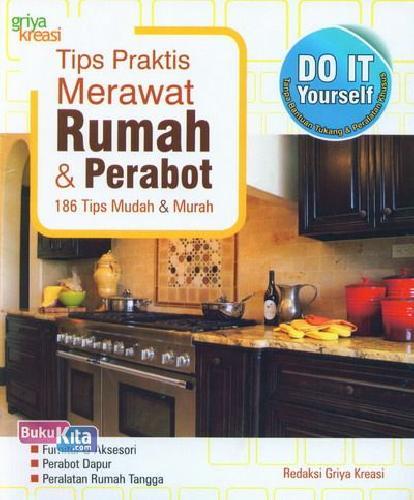 Cover Buku Tips Praktis Merawat Rumah dan Perabot