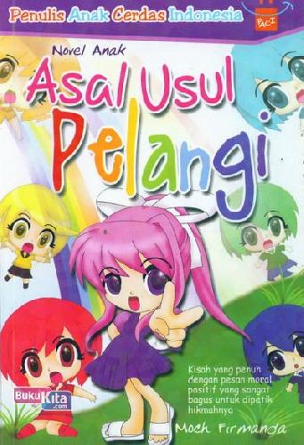 Cover Buku Asal Usul Pelangi
