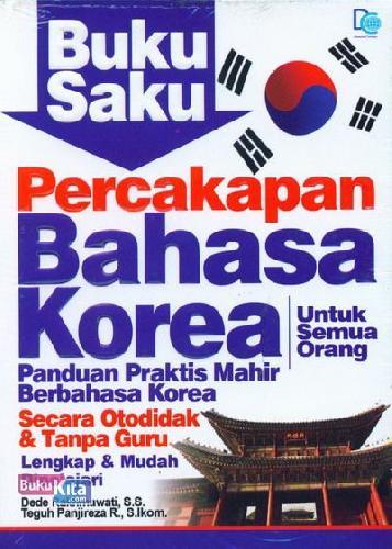 Cover Buku Buku Saku Percakapan Bahasa Korea