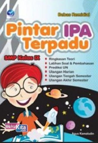Cover Buku Bebas Remidial Pintar IPA Terpadu SMP Kelas IX