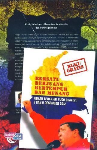 Cover Belakang Buku Hugo Chavez : Soekarno Dari Venezuela
