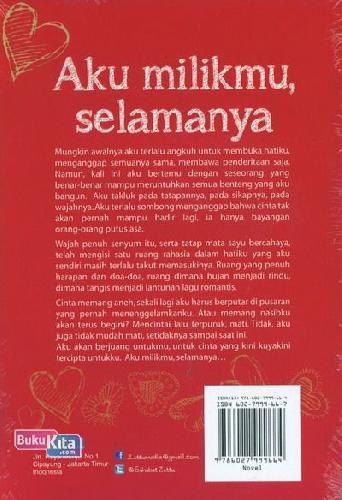 Cover Belakang Buku Aku Milikmu Selamanya