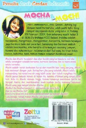 Cover Belakang Buku Mocha dan Mochi