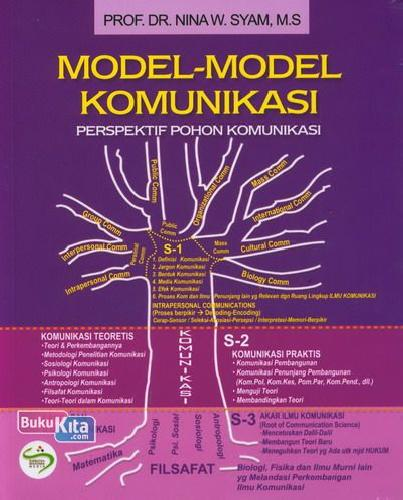 Cover Buku Model-Model Komunikasi Perspektif Pohon Komunikasi