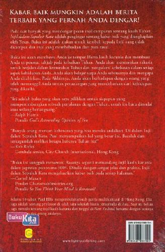 Cover Belakang Buku Injil dalam 10 kata