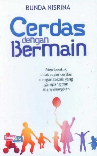 Cover Buku Cerdas Dengan Bermain